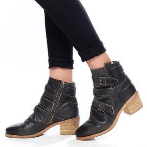 Kelsi Dagger Brooklyn KDB Grand Leather Booties